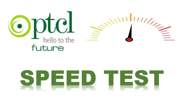 Internet speed test ptcl