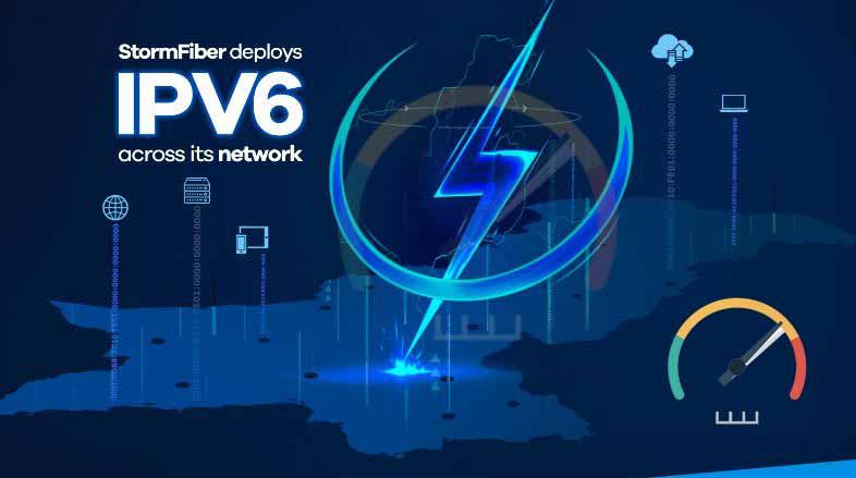 Storm fiber connection IDM speed test